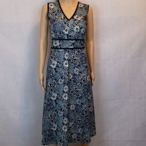 Eddie Bauer Empire Dress Size 12 Boumwolle cotton